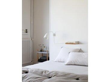Oreiller Tediber 40x80  - Livraison gratuite et express -  Fabriqué en France -  Plumes, duvet de canard et microfibres