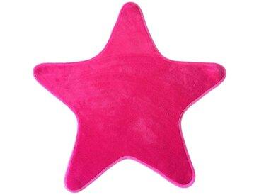 Tapis enfant MIKI STAR coloris rose