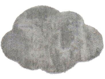 Tapis enfant 60x90 cm NUAGE GRIS