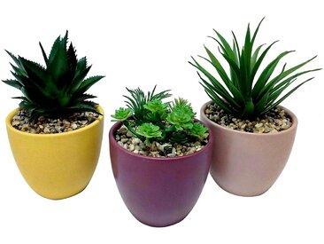 Plantes artificielles en pot TERRA modèle au choix