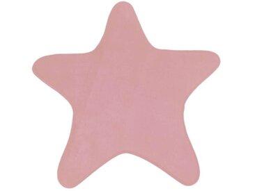 Tapis enfant Ø100 cm MIKI STAR coloris rose