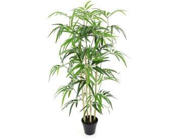 Bambou artificiel dans pot. H90 cm