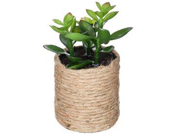 Plante artificielle dans pot en chanvre PAPITE aux choix