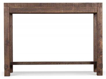 Table Haute Bois 140x45x106cm - Marron - Décoration d'Autrefois