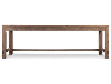 Table Bois 250x90x79cm - Marron - Décoration d'Autrefois