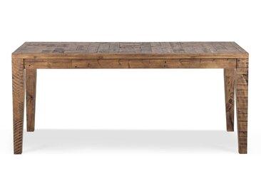 Table à manger Bois Marron 180x90x78.5cm - Décoration d'Autrefois