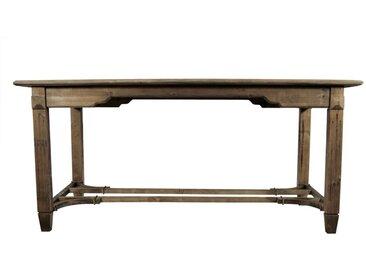 Table Bois 250x90.5x81.5cm - Marron - Décoration d'Autrefois