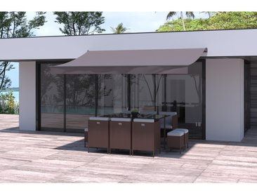 Adro - Store banne taupe 4x2,5M