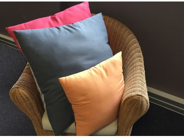 Coussin Bicolore - Coussin 40x40cm - la malle des anges