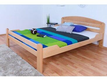 Lit de jeunesse Easy Premium Line ®' K5, 160 x 200 cm bois de hêtre massif naturel, sommier inclus