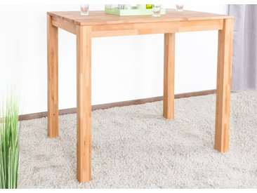 Table haute Wooden Nature 119 hêtre massif - 120 x 80 cm (L x P)