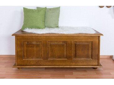 Coffre en pin massif couleur chêne rustique 180 – Dimensions: 51 x 120 x 46 cm (H x l x p)