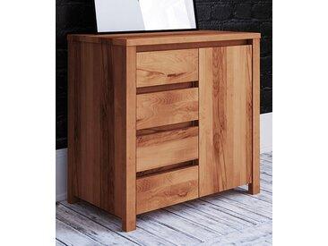 commode Tasman 12 en bois de coeur de hêtre massif huilé - dimensions : 77 x 80 x 45 cm (h x l x p)