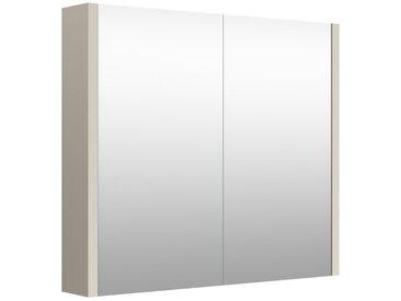 Salle de bain - armoire de toilette Noida 03, couleur : beige - 65 x 73 x 12 cm (H x L x P)