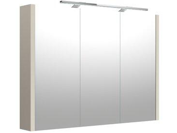 Salle de bain - armoire de toilette Noida 06, couleur : beige - 65 x 88 x 12 cm (H x L x P)