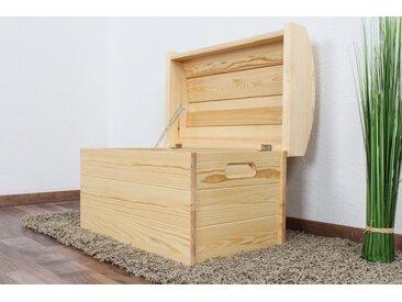 Coffre en bois de Pin massif Naturel 184 - Dimensions : 44 x 68 x 43 cm (H x l x p)