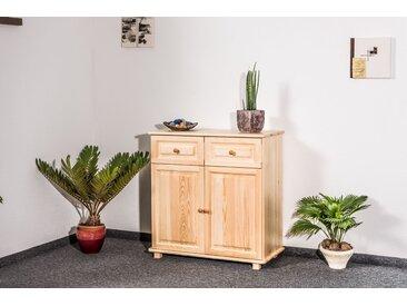 Commode bois de pin massif naturel 006 – Dimensions: 100 x 100 x 45 cm (H x L x P)