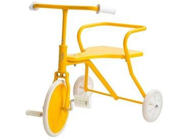 Fox Rider Tricycle en Métal - Jaune