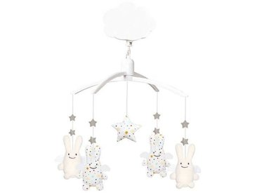 Trousselier Mobile Musical Ange Lapin - Etoiles
