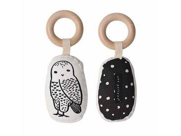 Wee Gallery Hochet - Owl