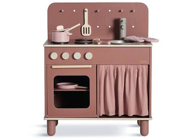 Flexa Cuisinière de Jeu + Kit Casserole & Poêle