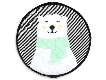 Play&Go Sac à Jouet / Tapis de Jeu Ø 120 cm - Polar Bear