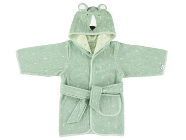 Trixie Baby Peignoir Mr. Polar Bear - 1/2 Ans