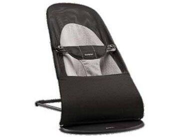 baby bjoern Transat Balance Soft Coton - Noir et Gris Foncé
