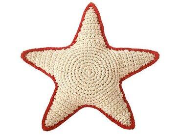 Anne-Claire Petit Hochet Sea Star en Crochet - Rouge