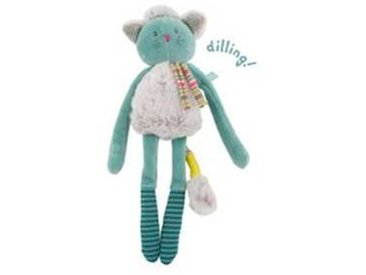 moulin roty Hochet Chat  Les Pachats  - Bleu