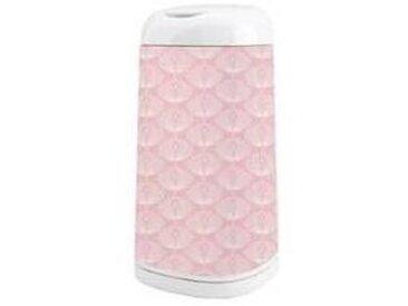 angelcare Housse pour Poubelle Dress Up - Fleurs / Rose