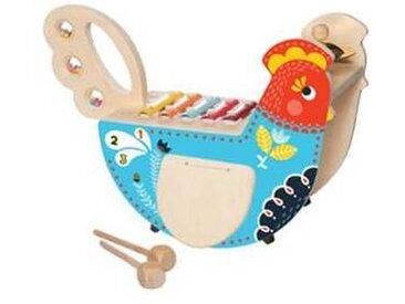 manhattan toy Poule Musicale en Bois