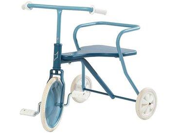 Fox Rider Tricycle en Métal - Bleu Vintage