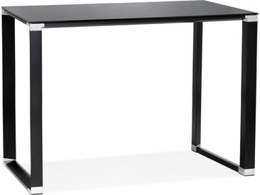 Table haute / bureau haut 'XLINE HIGH TABLE' en verre noir - 140