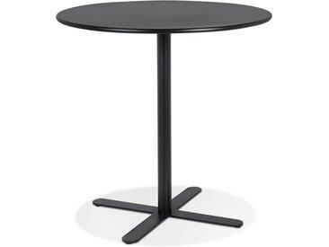 Petite table rounde 'RITMO' noire - Ø 60 cm