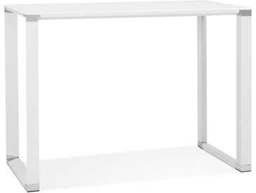 Table haute / bureau haut 'XLINE HIGH TABLE' en verre blanc - 14