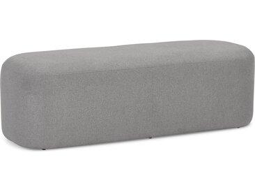 Banquette design 'SITO' en tissu gris foncé
