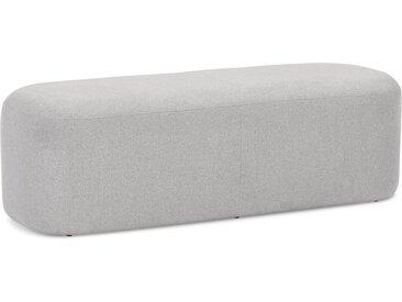 Banquette design 'SITO' en tissu gris clair