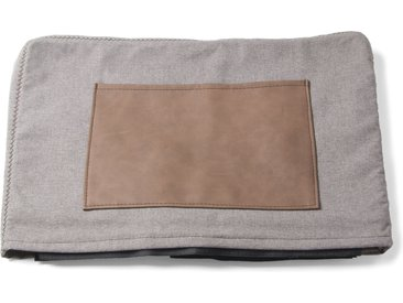 Kave Home - Housse chauffeuse Kos gris clair