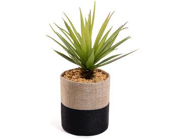 Kave Home - Petit Palmier artificielle en pot de raphia