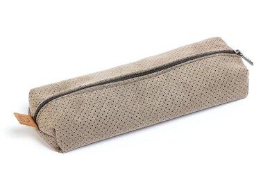 Trousse Foa tissu taupe avec fermeture éclair