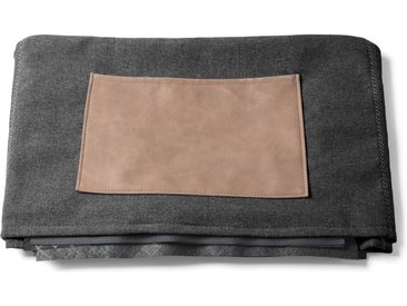 Kave Home - Housse chauffeuse Kos graphite