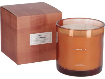 Kave Home - Bougie parfumée Citronella orange 750 gr