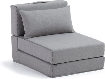 Kave Home - Chauffeuse Arty 70 x 89 (200) cm gris