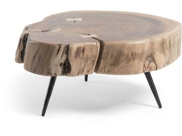 Kave Home - Table d'appoint Eider 49 x 47 cm