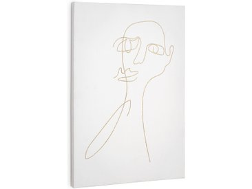 Kave Home - Tableau rectangulaire Nisma 40 x 60 cm