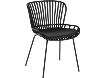 Kave Home - Chaise Surpik noire