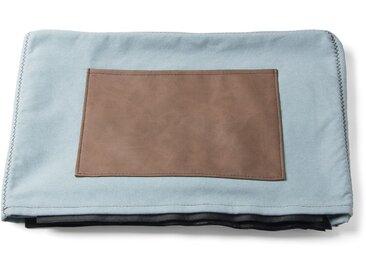 Kave Home - Verdi housse chauffeuse, bleu clair