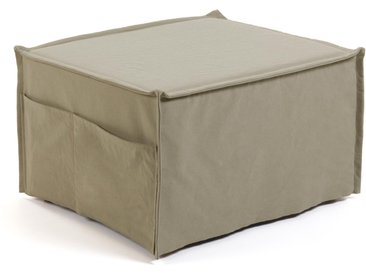 Kave Home - Chauffeuse Lizzie 70 x 60 (180) cm beige