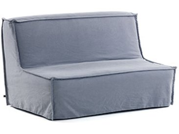Kave Home - Canapé-lit Lyanna 140 cm bleu